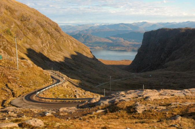Immediately to the south of Shieldaig is the Applecross peninsula around which it is possible to make a superb circular tour to visit the pretty little village of Applecross, taking in the Bealach na Ba (the Pass of the Cattle).