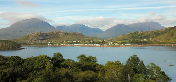 Shieldaig is situated amidst some of the most magnificent coastal and mountain scenery in the whole of the UK. Just a short distance further up the coast from Shieldaig are the Torridon Hills comprising well known peaks such as Beinn Alligin, Sgurr Mhor, Liathach and Beinn Eighe.