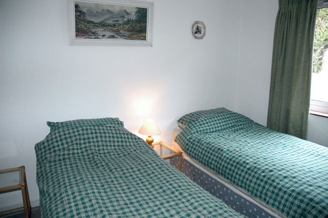 The twin bedroom at Ceol na Mara, Shieldaig, is on the ground floor.