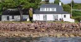 Ceol na Mara is situated at the north end of Shieldaig village directly overlooking Upper Loch Torridon and provides comfortable holiday accommodation for up to 8 people.